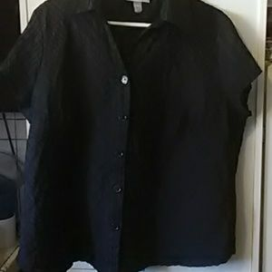 Dress barn short sleeve blouse